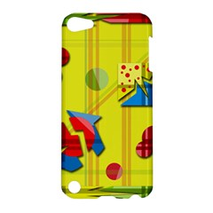 Playful day - yellow  Apple iPod Touch 5 Hardshell Case