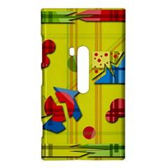 Playful day - yellow  Nokia Lumia 920