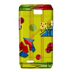 Playful day - yellow  Motorola XT788