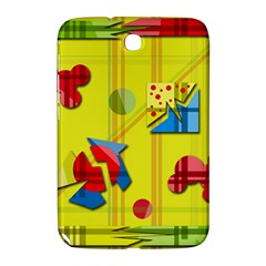 Playful day - yellow  Samsung Galaxy Note 8.0 N5100 Hardshell Case