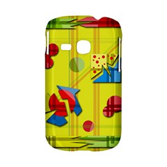 Playful day - yellow  Samsung Galaxy S6310 Hardshell Case