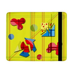 Playful day - yellow  Samsung Galaxy Tab Pro 8.4  Flip Case