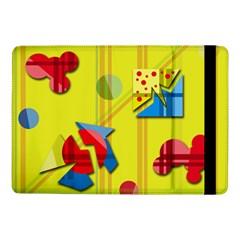 Playful day - yellow  Samsung Galaxy Tab Pro 10.1  Flip Case