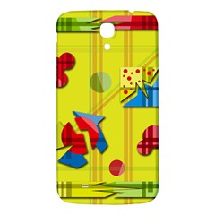 Playful day - yellow  Samsung Galaxy Mega I9200 Hardshell Back Case