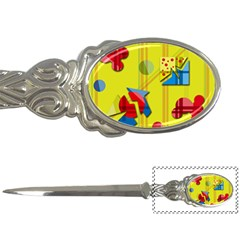 Playful day - yellow  Letter Openers