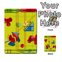Playful Day   Yellow  Multi Purpose Cards (rectangle)