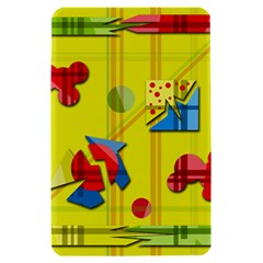 Playful day - yellow  Kindle Fire (1st Gen) Hardshell Case