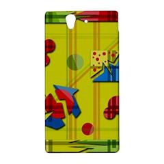 Playful day - yellow  Sony Xperia Z