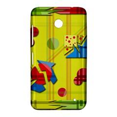 Playful day - yellow  Nokia Lumia 630