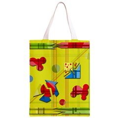 Playful day - yellow  Classic Light Tote Bag