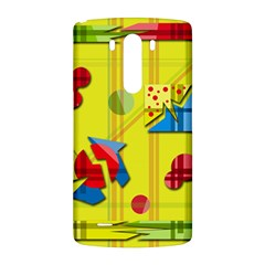 Playful day - yellow  LG G3 Back Case
