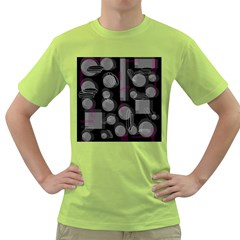 Come down - magenta Green T-Shirt