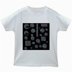 Come down - magenta Kids White T-Shirts