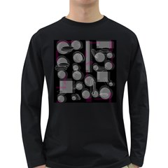 Come down - magenta Long Sleeve Dark T-Shirts