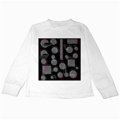 Come down - magenta Kids Long Sleeve T-Shirts