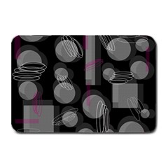 Come down - magenta Plate Mats
