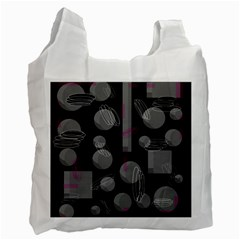 Come down - magenta Recycle Bag (Two Side)