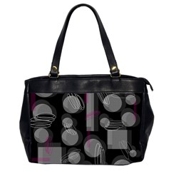 Come down - magenta Office Handbags (2 Sides)