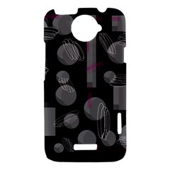 Come down - magenta HTC One X Hardshell Case