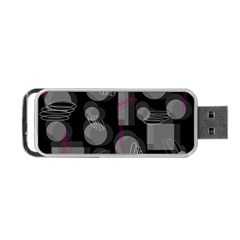 Come down - magenta Portable USB Flash (One Side)
