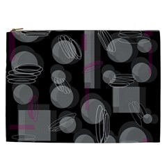 Come down - magenta Cosmetic Bag (XXL)