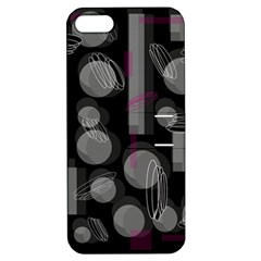Come down - magenta Apple iPhone 5 Hardshell Case with Stand