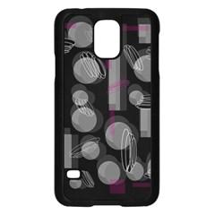 Come down - magenta Samsung Galaxy S5 Case (Black)
