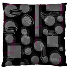 Come Down   Magenta Standard Flano Cushion Case (two Sides)