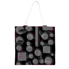 Come down - magenta Grocery Light Tote Bag