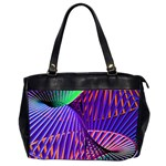Colorful Rainbow Helix Office Handbags (2 Sides)  Front