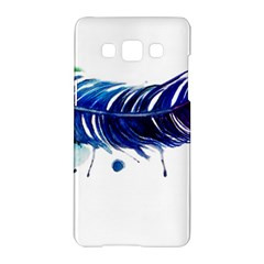 Watery Feather Samsung Galaxy A5 Hardshell Case