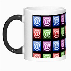 Email At Internet Computer Web Morph Mugs