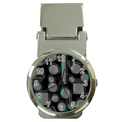 Come down - green Money Clip Watches