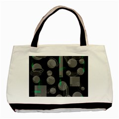 Come down - green Basic Tote Bag
