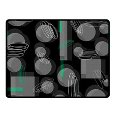 Come down - green Fleece Blanket (Small)