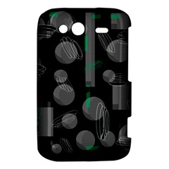 Come down - green HTC Wildfire S A510e Hardshell Case