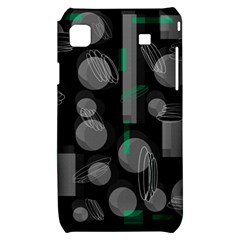 Come down - green Samsung Galaxy S i9000 Hardshell Case