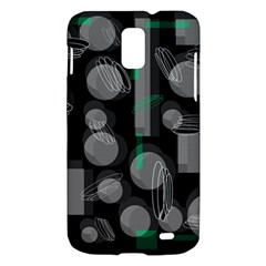 Come down - green Samsung Galaxy S II Skyrocket Hardshell Case