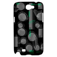 Come down - green Samsung Galaxy Note 2 Hardshell Case