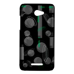 Come down - green HTC Butterfly X920E Hardshell Case