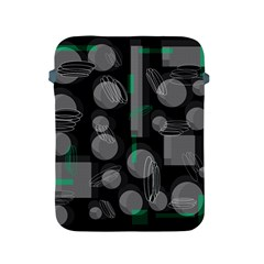 Come down - green Apple iPad 2/3/4 Protective Soft Cases