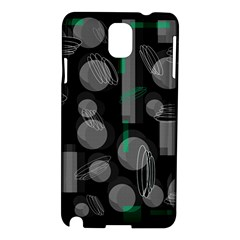 Come down - green Samsung Galaxy Note 3 N9005 Hardshell Case