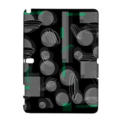 Come down - green Samsung Galaxy Note 10.1 (P600) Hardshell Case