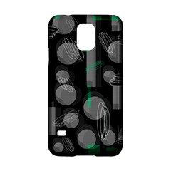 Come down - green Samsung Galaxy S5 Hardshell Case