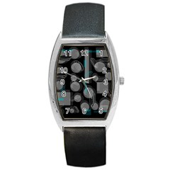 Come down - blue Barrel Style Metal Watch