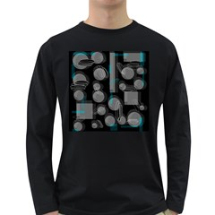 Come down - blue Long Sleeve Dark T-Shirts