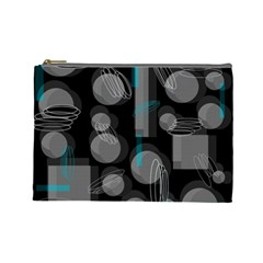 Come down - blue Cosmetic Bag (Large)