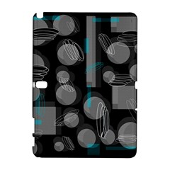 Come down - blue Samsung Galaxy Note 10.1 (P600) Hardshell Case