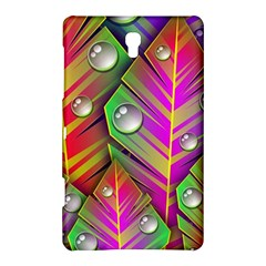 Bubbles Colorful Leaves Samsung Galaxy Tab S (8 4 ) Hardshell Case