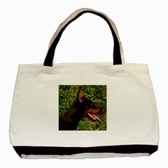 Doberman Pinscher Basic Tote Bag (Two Sides)